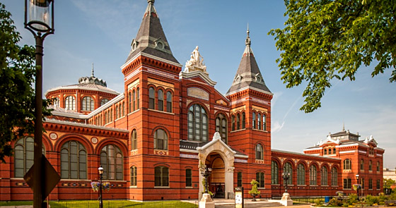 The Smithsonian Institution Arts and Industries Building