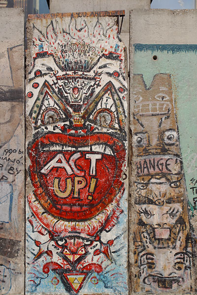 The Berlin Wall symbolizes cultural divides